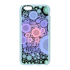 An Abstract Background Consisting Of Pastel Colored Circle Apple Seamless iPhone 6/6S Case (Color)