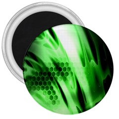 Abstract Background Green 3  Magnets