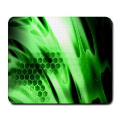 Abstract Background Green Large Mousepads