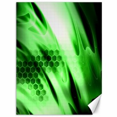 Abstract Background Green Canvas 36  X 48