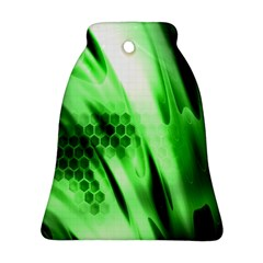 Abstract Background Green Ornament (Bell)