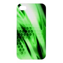 Abstract Background Green Apple iPhone 4/4S Hardshell Case