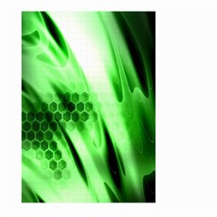 Abstract Background Green Large Garden Flag (two Sides)