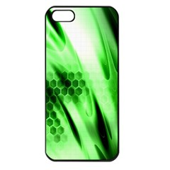 Abstract Background Green Apple Iphone 5 Seamless Case (black)