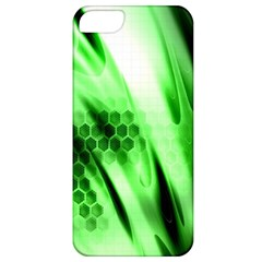 Abstract Background Green Apple iPhone 5 Classic Hardshell Case