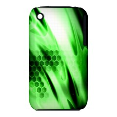 Abstract Background Green Iphone 3s/3gs