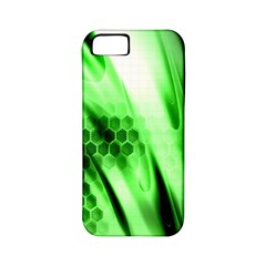 Abstract Background Green Apple Iphone 5 Classic Hardshell Case (pc+silicone)