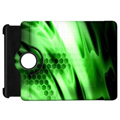 Abstract Background Green Kindle Fire HD 7