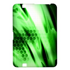 Abstract Background Green Kindle Fire HD 8.9