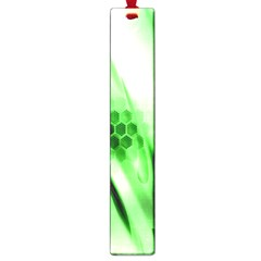 Abstract Background Green Large Book Marks