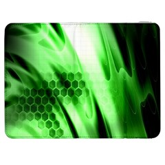 Abstract Background Green Samsung Galaxy Tab 7  P1000 Flip Case