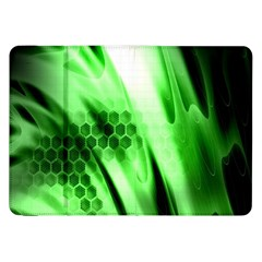 Abstract Background Green Samsung Galaxy Tab 8 9  P7300 Flip Case