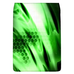 Abstract Background Green Flap Covers (L)