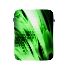 Abstract Background Green Apple iPad 2/3/4 Protective Soft Cases