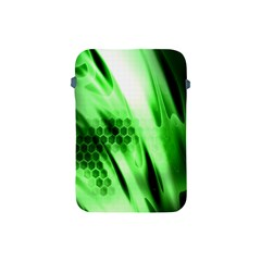 Abstract Background Green Apple Ipad Mini Protective Soft Cases