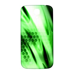 Abstract Background Green Samsung Galaxy S4 I9500/I9505  Hardshell Back Case