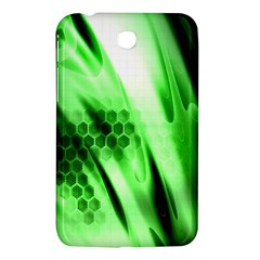 Abstract Background Green Samsung Galaxy Tab 3 (7 ) P3200 Hardshell Case