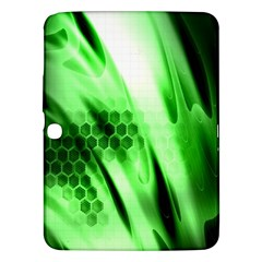 Abstract Background Green Samsung Galaxy Tab 3 (10 1 ) P5200 Hardshell Case