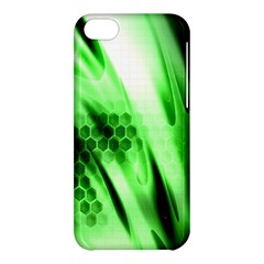 Abstract Background Green Apple iPhone 5C Hardshell Case