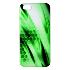 Abstract Background Green iPhone 5S/ SE Premium Hardshell Case
