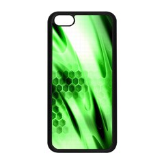 Abstract Background Green Apple iPhone 5C Seamless Case (Black)