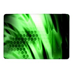 Abstract Background Green Samsung Galaxy Tab Pro 10.1  Flip Case