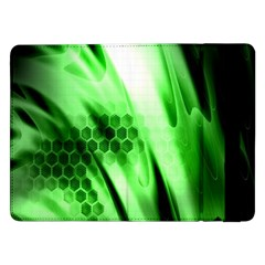 Abstract Background Green Samsung Galaxy Tab Pro 12.2  Flip Case