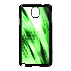 Abstract Background Green Samsung Galaxy Note 3 Neo Hardshell Case (Black)