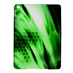 Abstract Background Green Ipad Air 2 Hardshell Cases