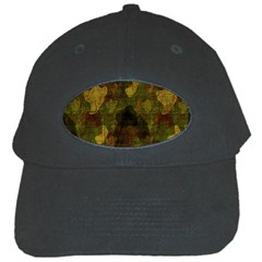 Textured Camo Black Cap