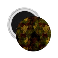 Textured Camo 2.25  Magnets