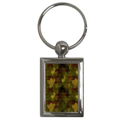 Textured Camo Key Chains (rectangle)