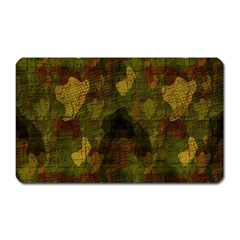 Textured Camo Magnet (Rectangular)