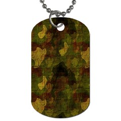Textured Camo Dog Tag (one Side)