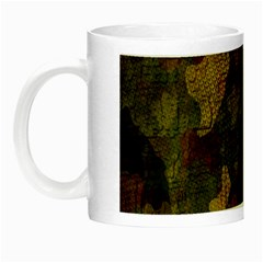 Textured Camo Night Luminous Mugs