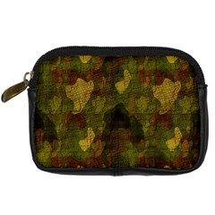 Textured Camo Digital Camera Cases