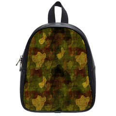 Textured Camo School Bags (small)