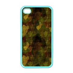 Textured Camo Apple Iphone 4 Case (color)