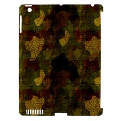 Textured Camo Apple iPad 3/4 Hardshell Case (Compatible with Smart Cover)