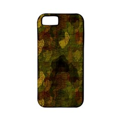 Textured Camo Apple iPhone 5 Classic Hardshell Case (PC+Silicone)