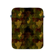 Textured Camo Apple Ipad 2/3/4 Protective Soft Cases