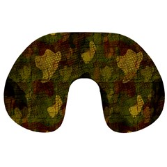 Textured Camo Travel Neck Pillows