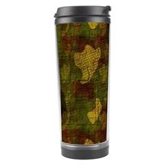 Textured Camo Travel Tumbler