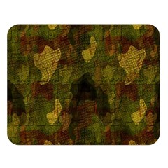 Textured Camo Double Sided Flano Blanket (Large)