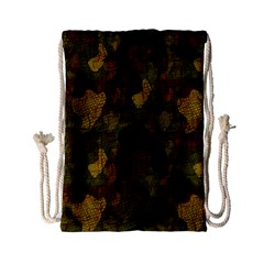 Textured Camo Drawstring Bag (Small)