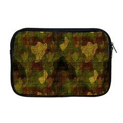 Textured Camo Apple Macbook Pro 17  Zipper Case