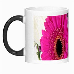 Purple White Flower Bouquet Morph Mugs