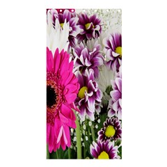 Purple White Flower Bouquet Shower Curtain 36  X 72  (stall)