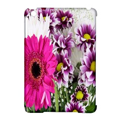 Purple White Flower Bouquet Apple iPad Mini Hardshell Case (Compatible with Smart Cover)