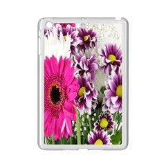 Purple White Flower Bouquet iPad Mini 2 Enamel Coated Cases